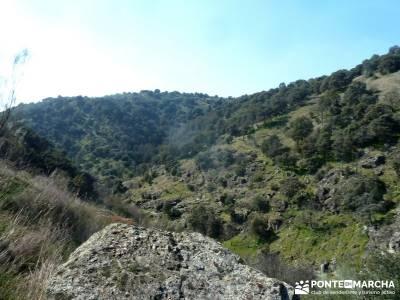 Cañón Río Aulencia-Embalse Valmenor; refugio bujaruelo grupos para salir en madrid excursiones po